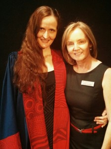 Genevieve with Linda Landreth (RACGP) at Fellowship Ceremony