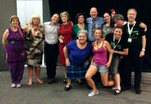 Cast pre-show photo Darwin 17th October 2013